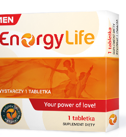 EnergyLife for Men ! – Suplement ishrane namenjen muškarcima !